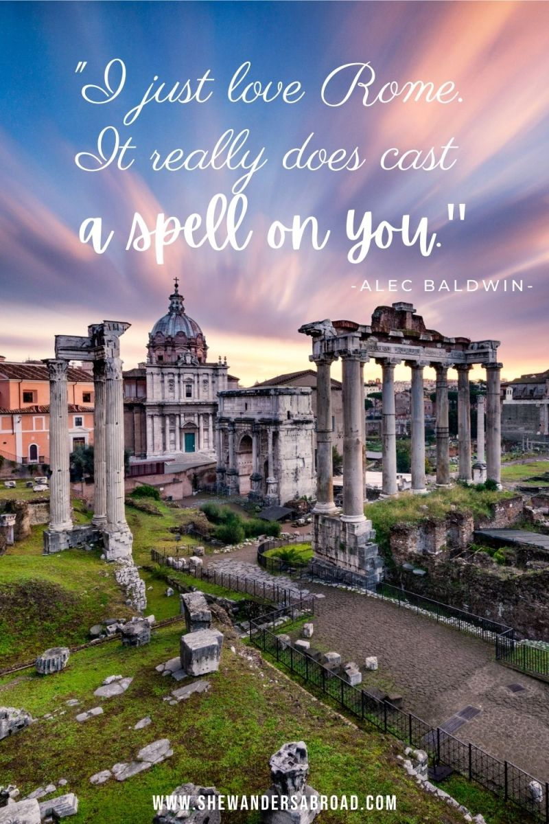 Powerful Rome Quotes for Instagram