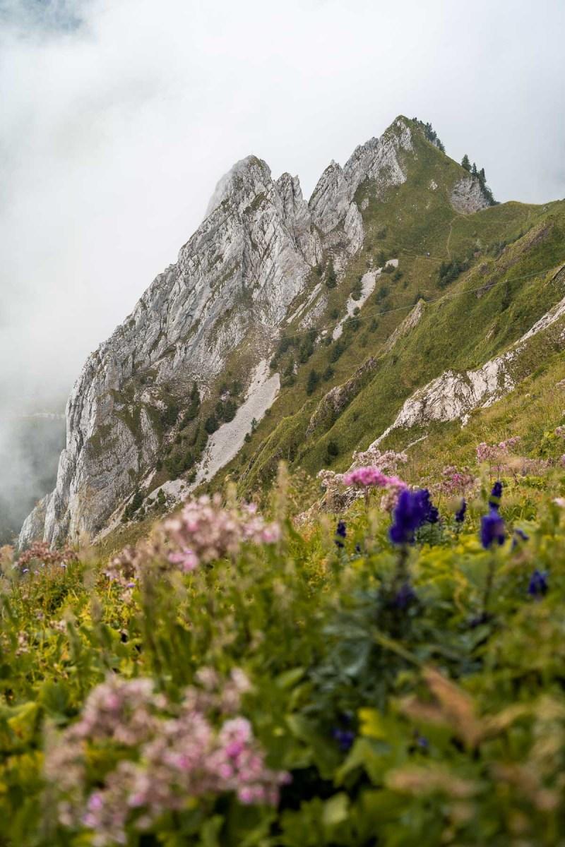 Schaeffler Ridge, Ebenalp, Switzerland