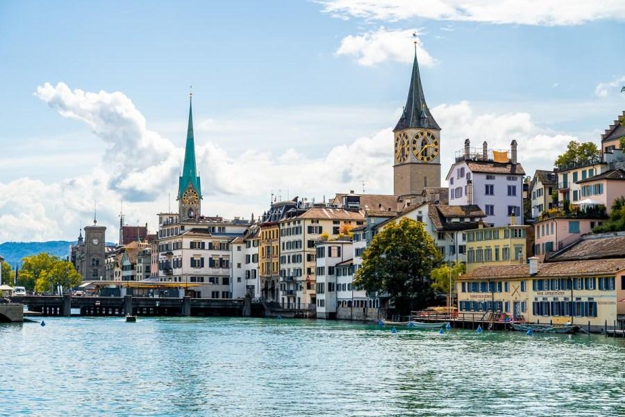 Zurich Riverwalk