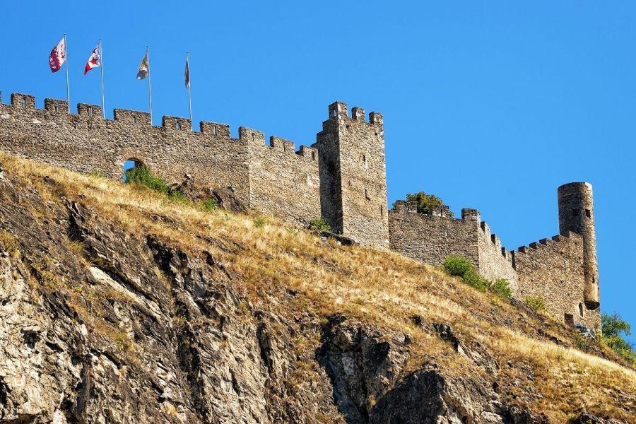 Tourbillon Castle, Switzerland