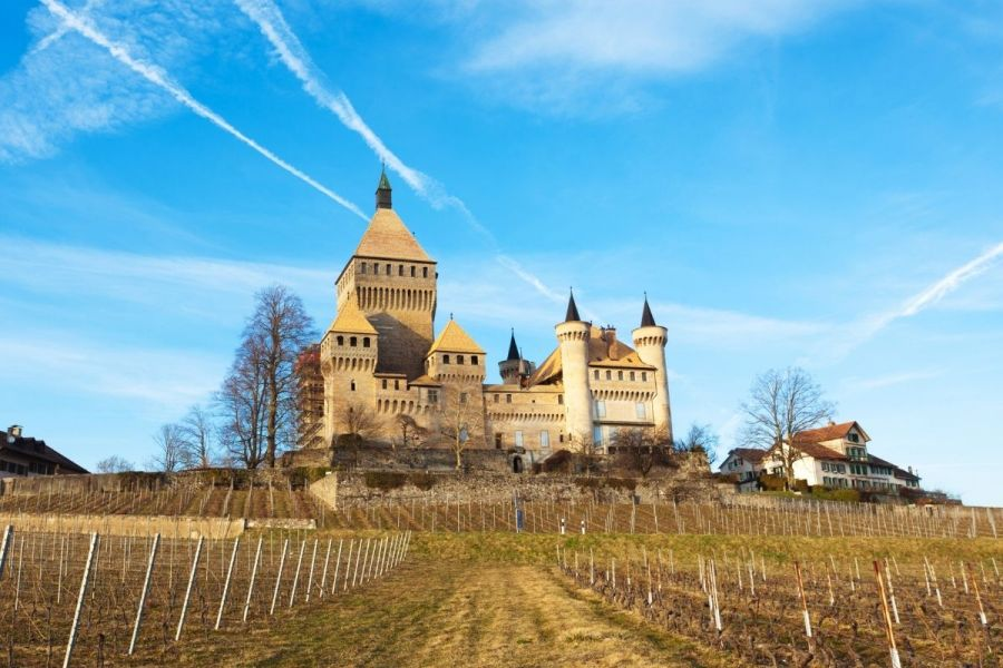 Vufflens Castle, Switzerland