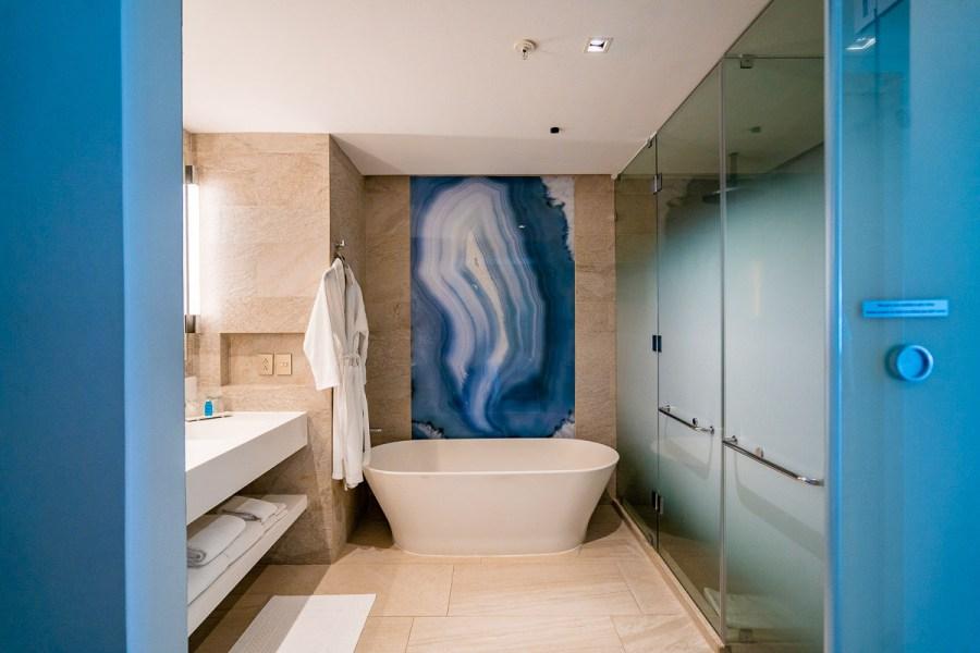 Bathroom at JW Marriott Cancun