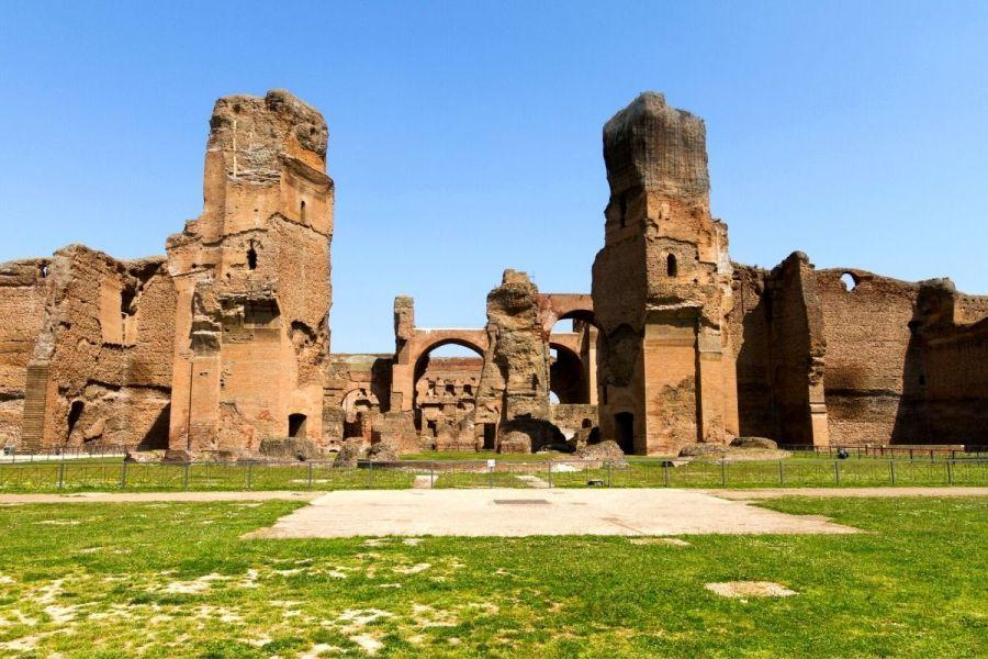 Baths of Caracalla in Rome, Italy