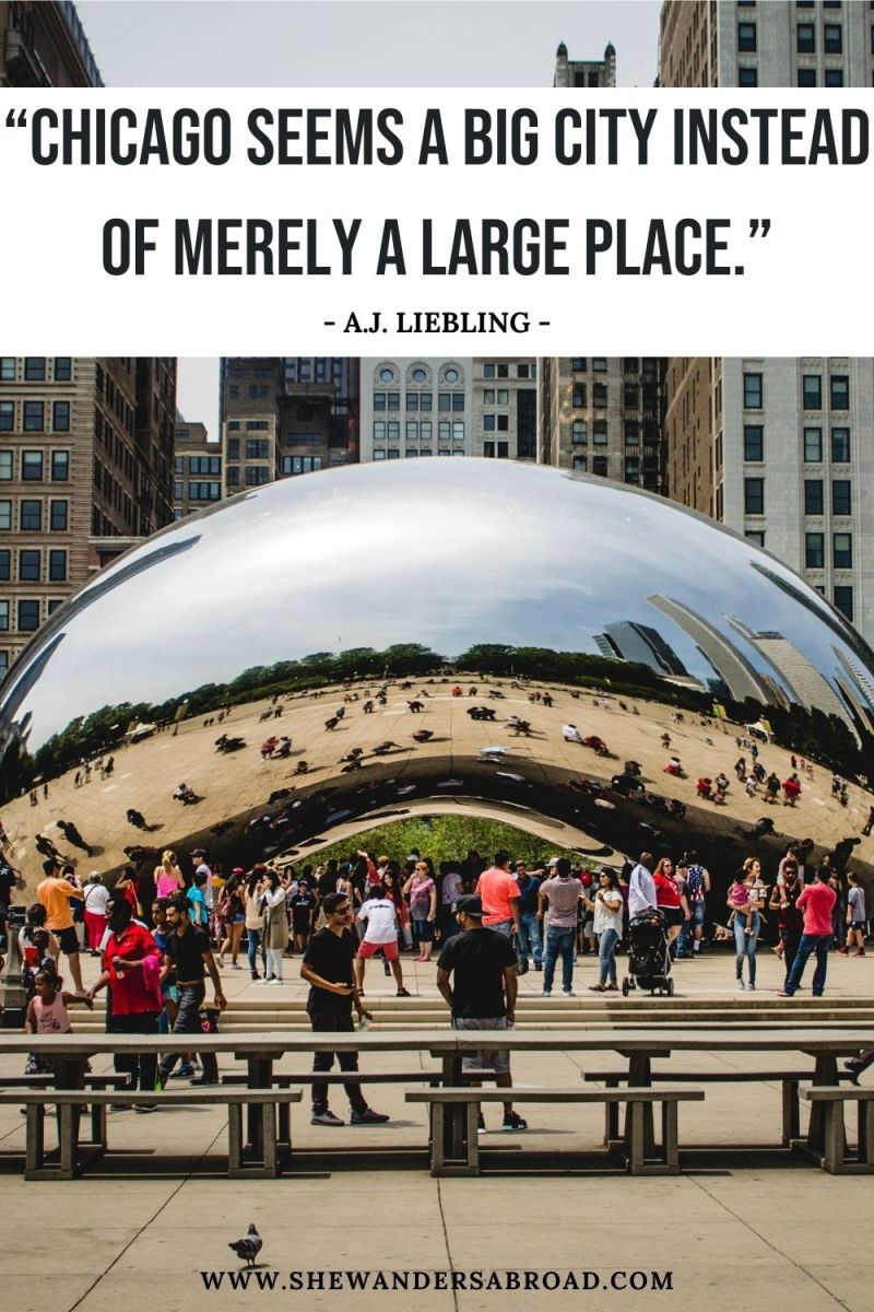 Short Chicago Quotes for Instagram