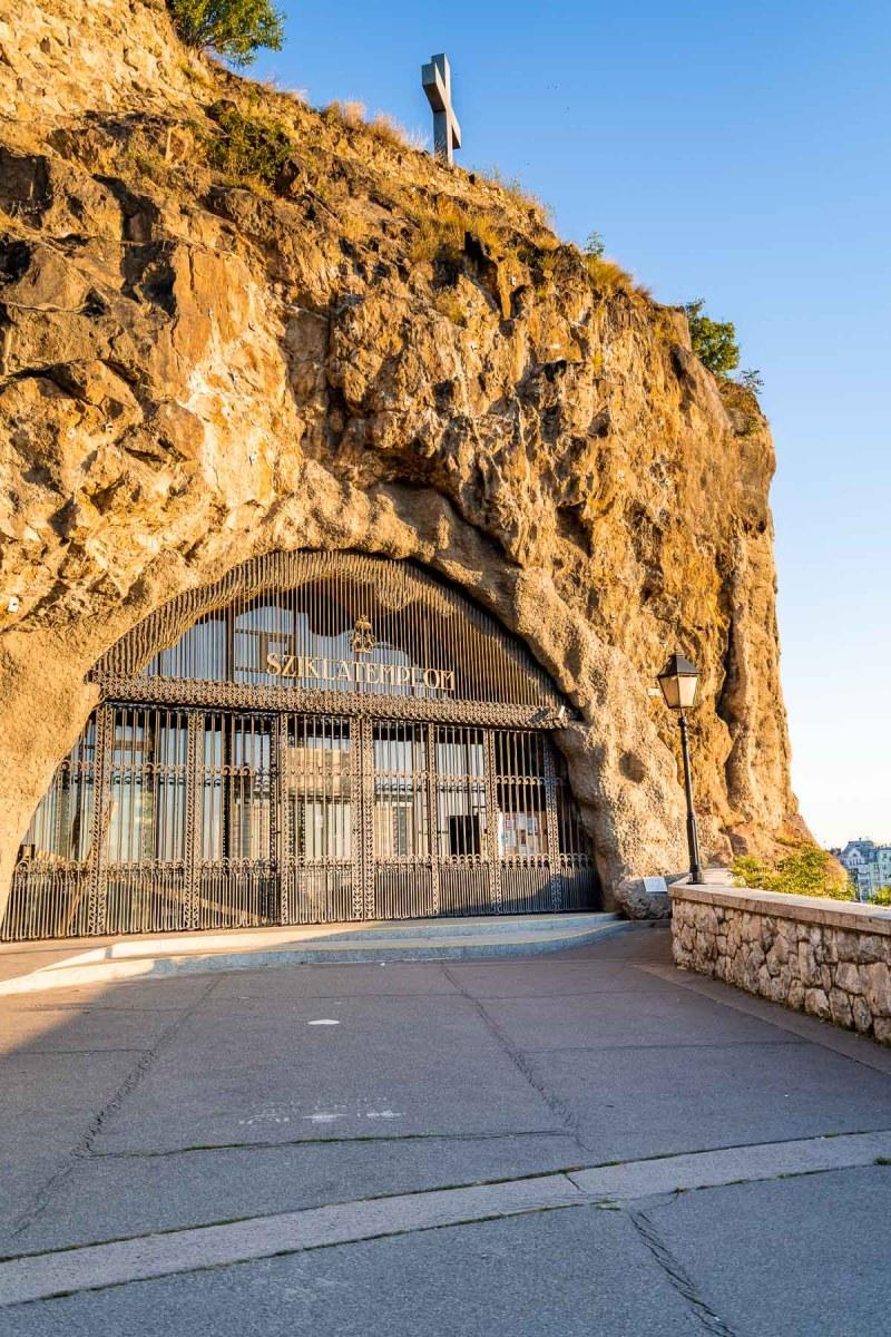 Gellert Hill Cave in Budapest