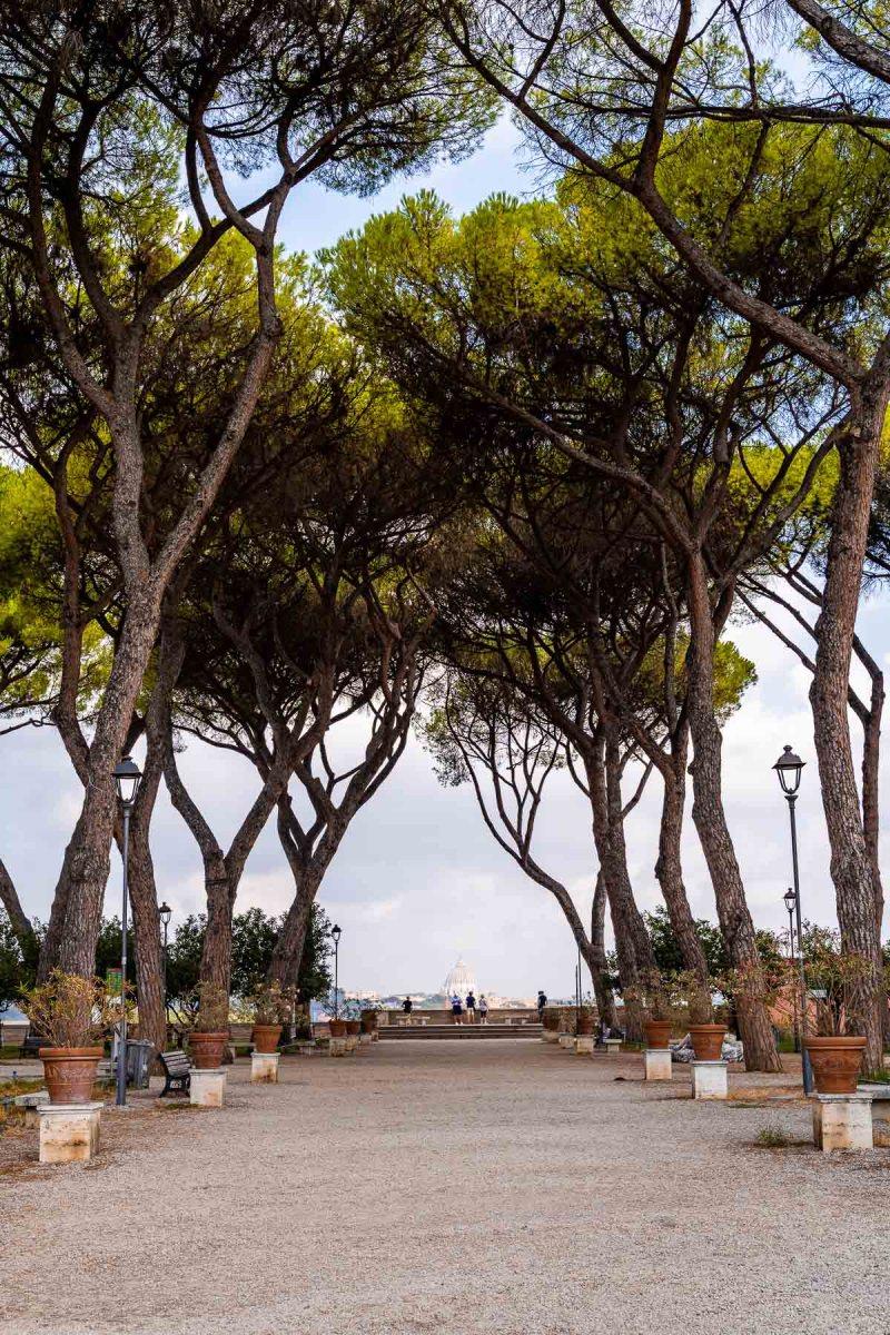 Giardino degli Aranci in Rome, Italy