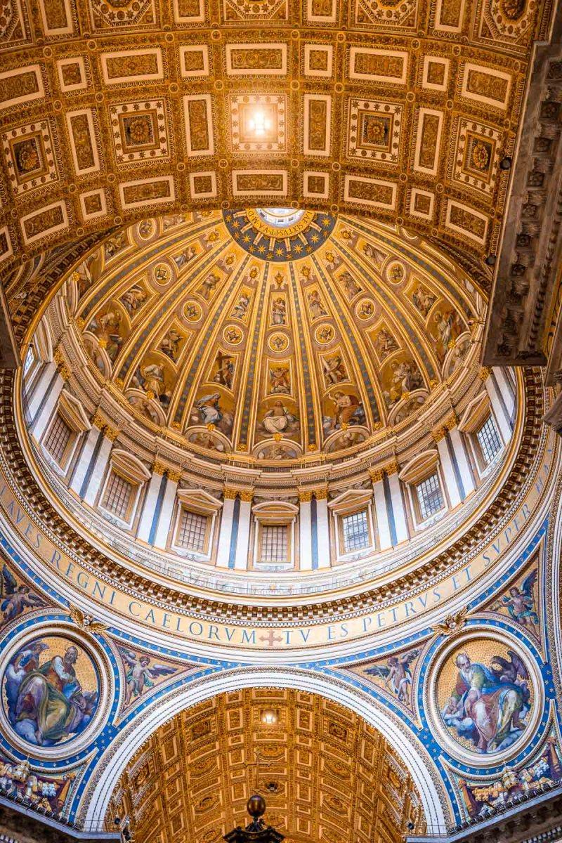 Interior of the St. Peter's Basilica, Vatican City