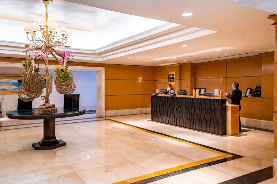 Lobby at JW Marriott Cancun
