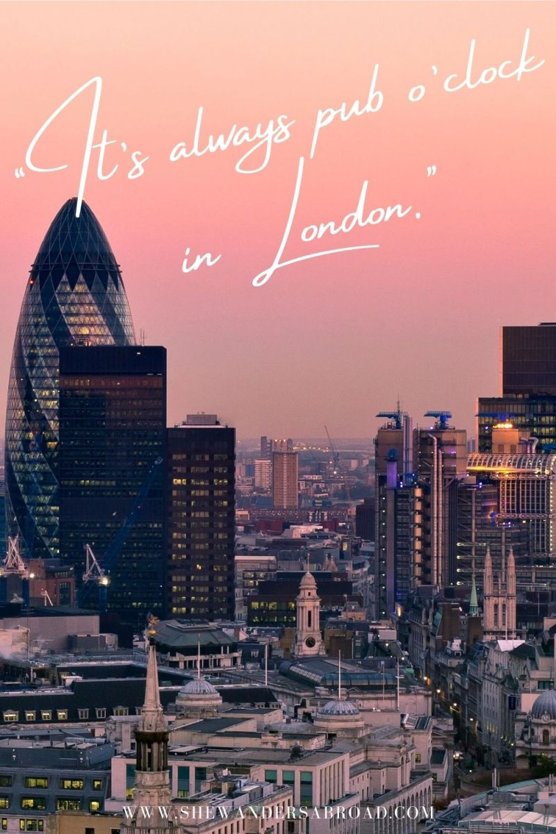Best London Captions for Instagram