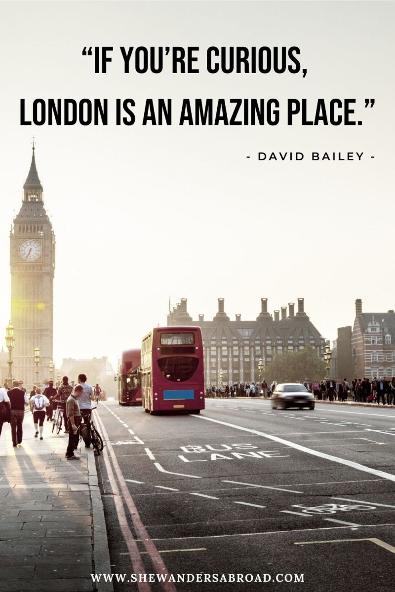 Short London Quotes for Instagram