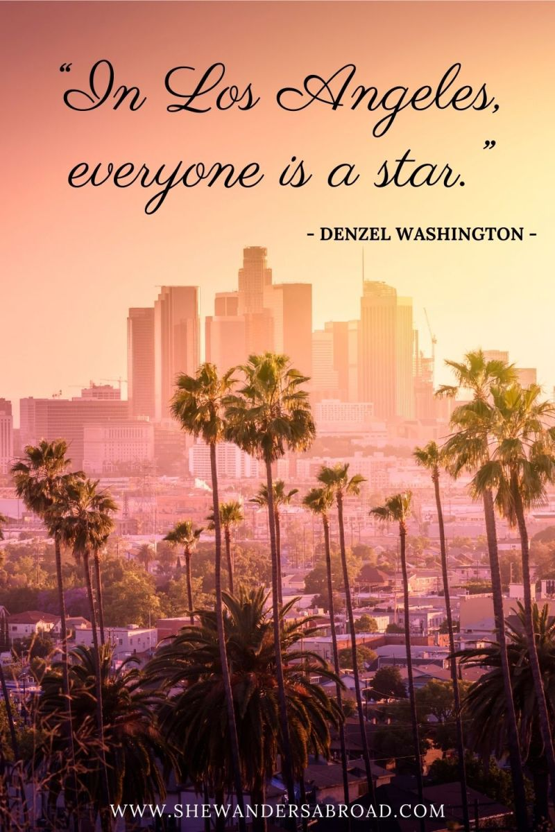 Short Los Angeles Quotes for Instagram