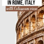 Rome Hotels with Views of the Colosseum