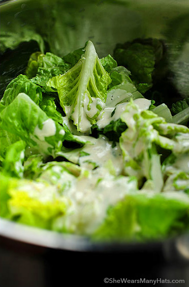 White Bean Caesar Salad Dressing