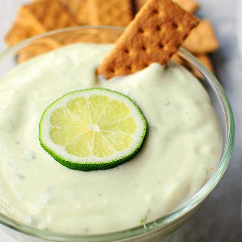 Easy Lime Pie Dip Recipe shewearsmanyhats.com