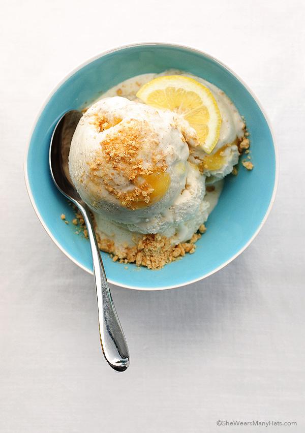 Lemon Pie Ice Cream Recipe