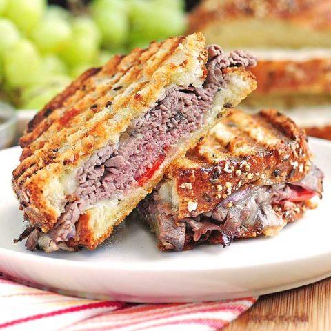 roast beef panini recipe