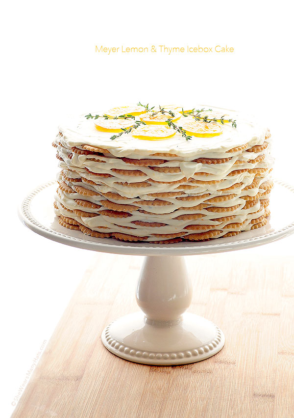 kitchen aid bbq salt containers meyer lemon thyme icebox cake recipe | she wears many hats