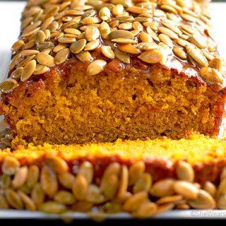 Pumpkin Bread Recipe from shewearsmanyhats.com