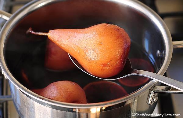 poaching pears