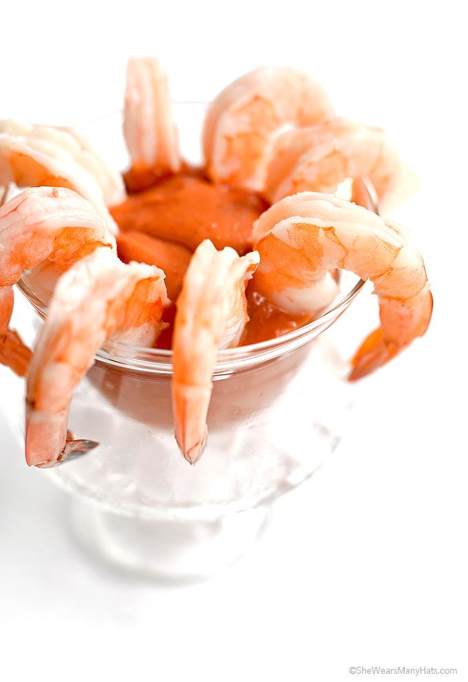 Classic Shrimp Cocktail Recipe shewearsmanyhats.com