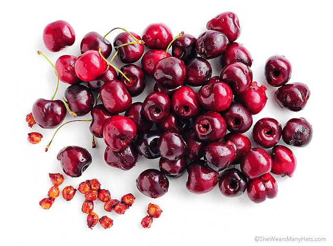 Fresh Cherry Parfaits Recipe shewearsmanyhats.com