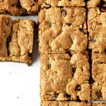 Brown Butter Pecan Chocolate Chip Cookie Bars Recipe