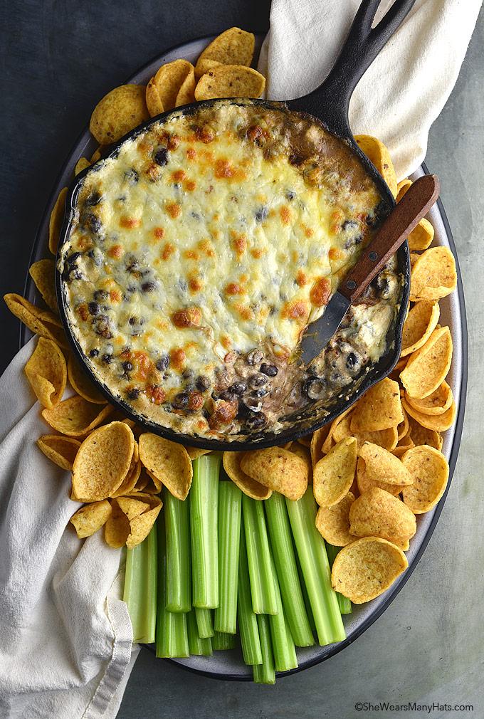 Easy Hot Chili Cheese Dip Recipe   shewearsmanyhats.com
