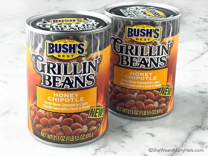 bush's honey chipotle grillin beans