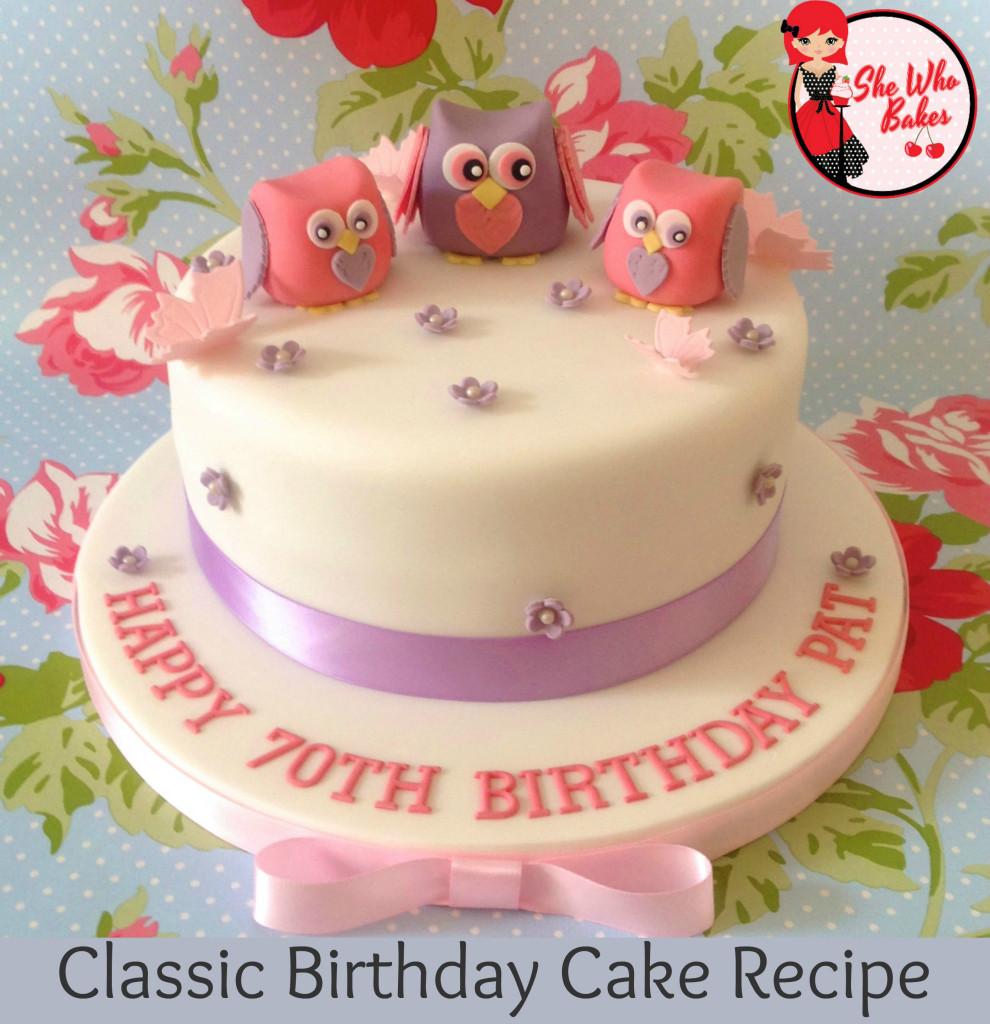 Classic Madeira Birthday Cake Recipe She Who Bakes
