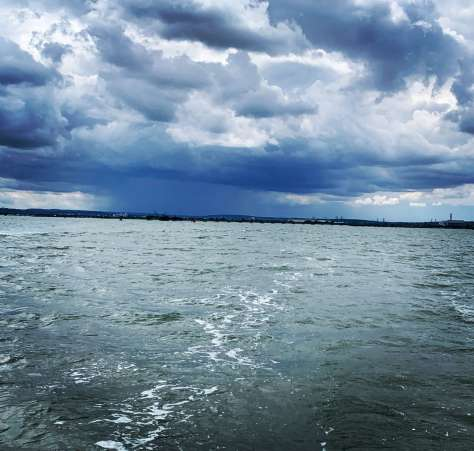 A squall over the river Medway