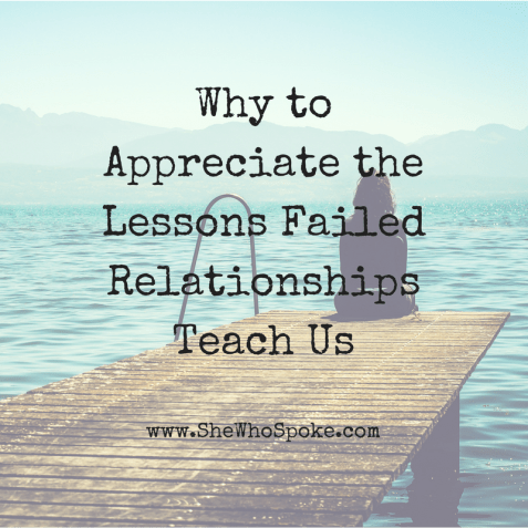 appreciation | lessons learned | love | relationships