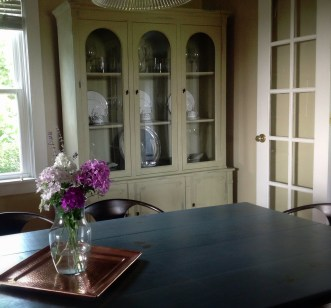 Antique China Cabinet - Restored with Annie Sloan Chalk Paint