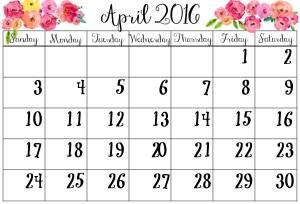 April 2016 SWHW