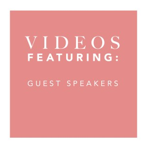 Video Thumbnail - Guest Speakers