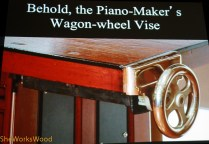Wagon Wheel vise.