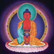 Amitabha – Red Buddha of Infinite Light
