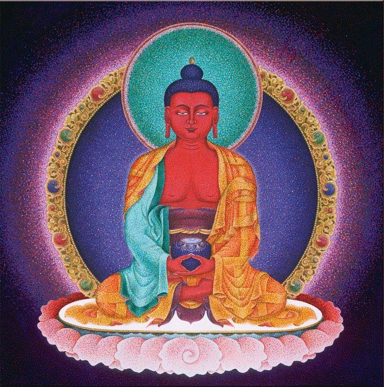 Amitabha – Red Buddha of Infinite Light