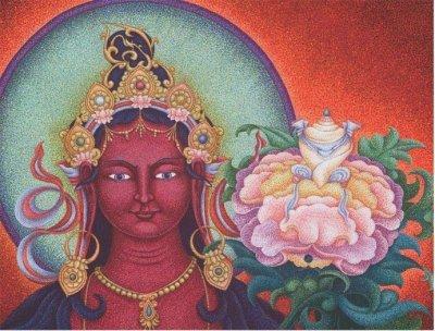 Red Tara – Tara of the Bodhichitta