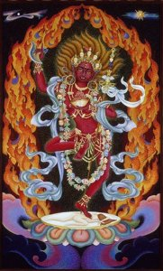 Vajravarahi – Dance of the Red Dakini