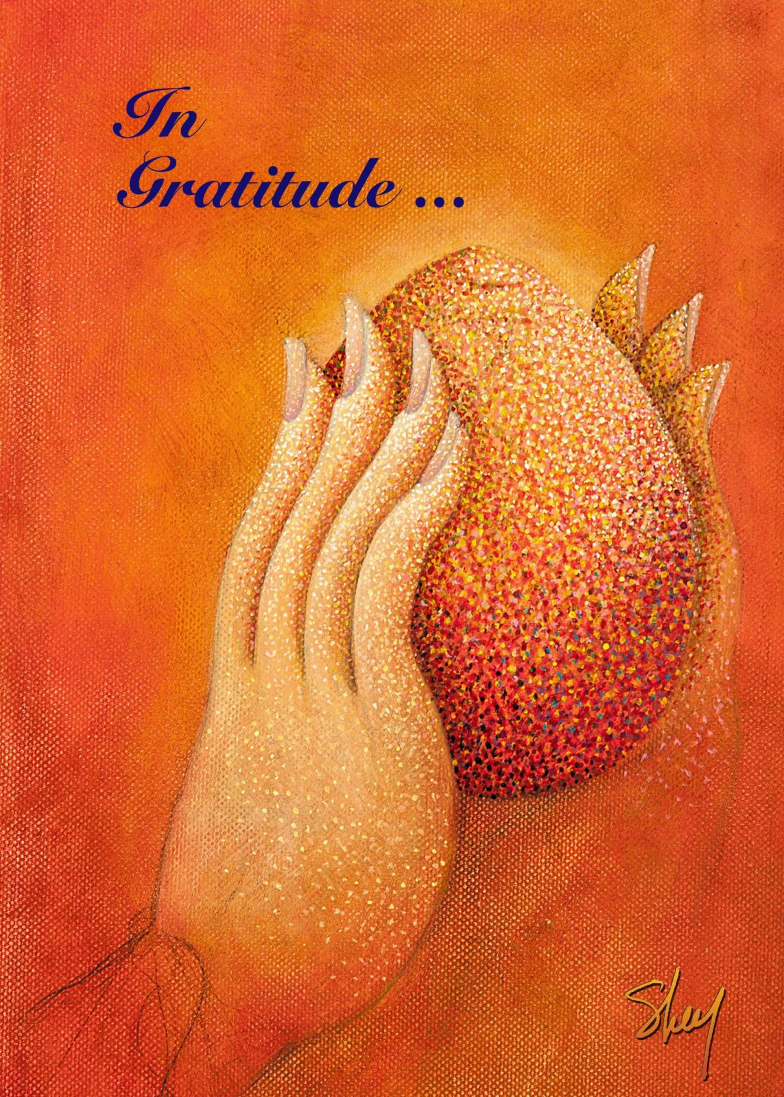 Greeting Cards - In Gratitude