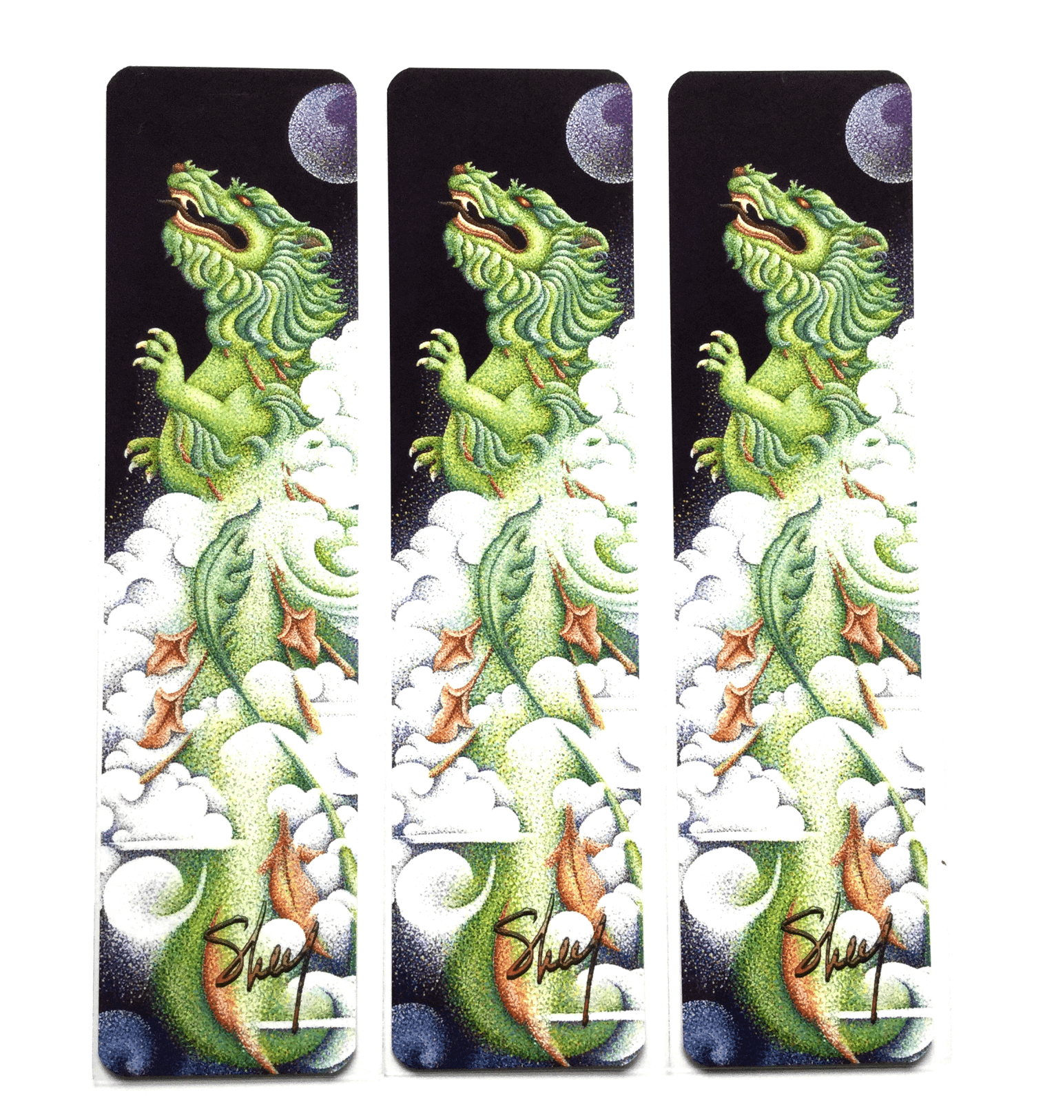 Art Bookmarks - Dragon
