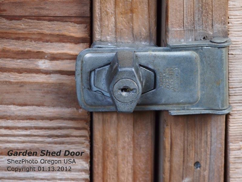 345Days ShezPhoto #21 Garden Shed Door Latch