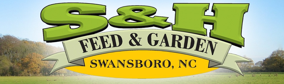 SH Feed and Garden Logo