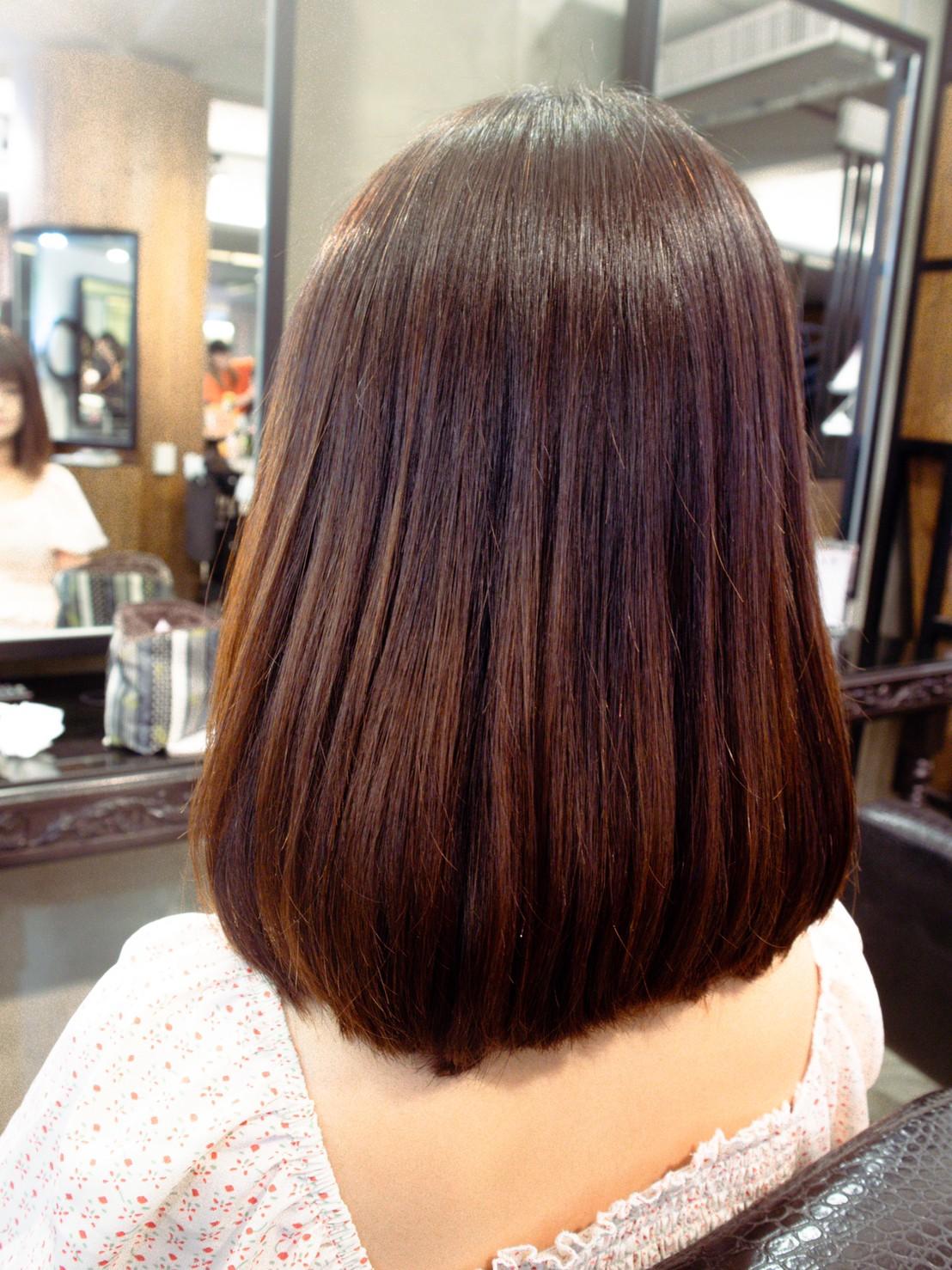 護髮後髮質狀況-台中護髮推薦