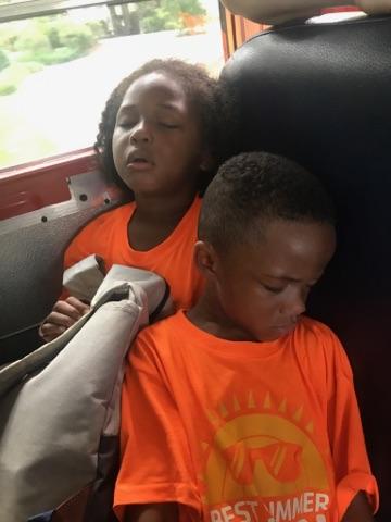 Isaiah and Keyden sleeping