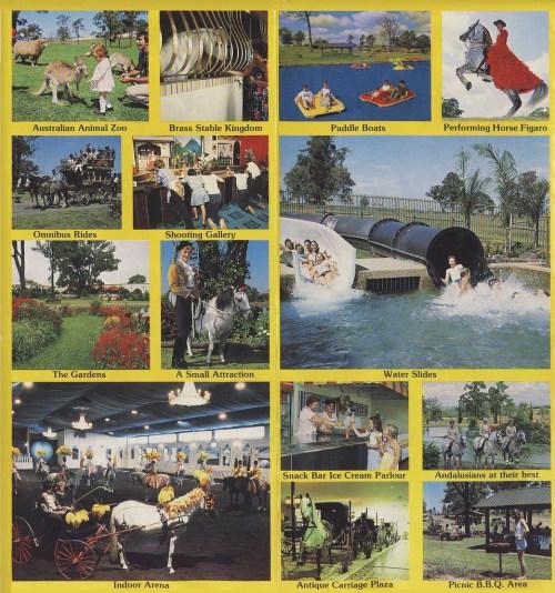 Original brochure - performances, watersports & family friendly fun in a Spanish leisure resort setting