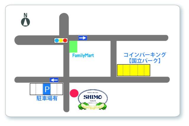 SHIMO駐車場