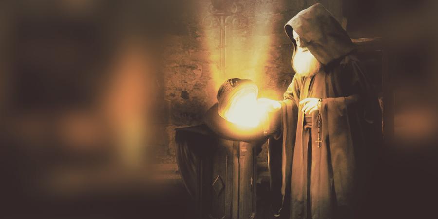 Голова Имама Хусейна ихристианский монах