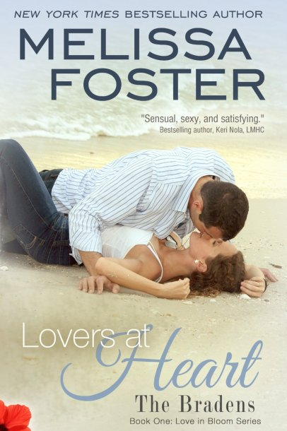 Lovers at Heart by Melissa Foster available free for limited time on Nook and KIndle