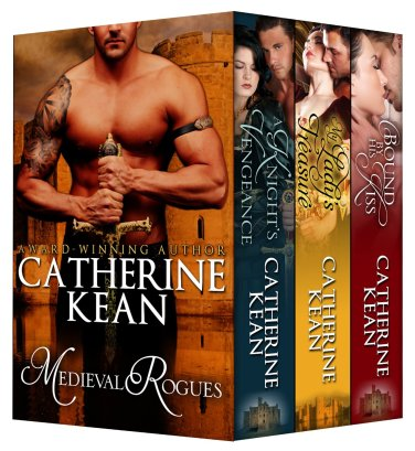99¢ Ebook Deals: Medieval Rogues by Catherine Kean available for limited time on Kindle and Nook